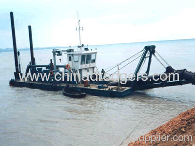 Reclamation cutter dredger for sand
