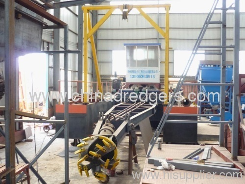 Mechanical Desilting Cutter Suction Dredger