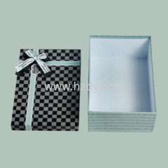 1.5mm thickness gift paper box for Christmas gift