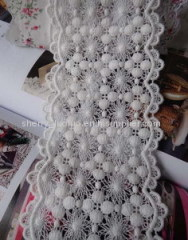 Chemical cotton lace 8cm