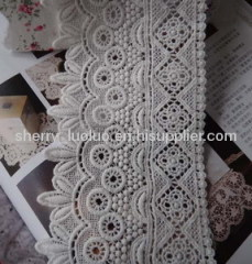 Chemical cotton lace 9cm
