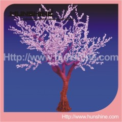 outdoor decorative cherry blossom light christmas tree