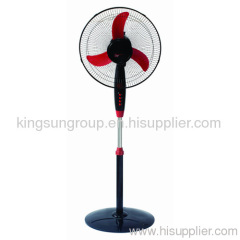 16inch stand fan with heavy roud base