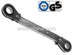 25 Degree Angle Offset Ratcheting Box Wrench