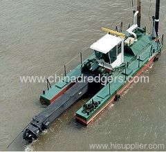 China used cutter suction dredger vessels