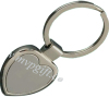 metal heart-shape key chain