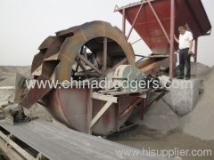 China 100m3 sand washer