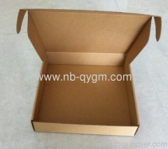 Die-cut shipping boxes