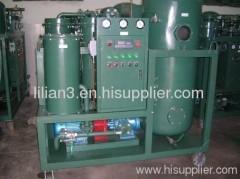 Waste turbine oil management,turbine oil regeneration oil filter machine