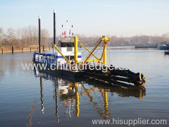 Cutter Suction Sand Dredge in river or sea