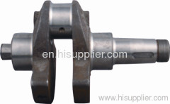 S195 diesel engine crankshaft