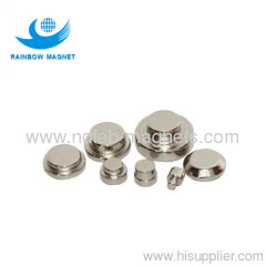 Neodymium magnet dics and button