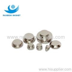 Neodymium magnet dics and button
