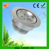 high power white 3w round led downlight