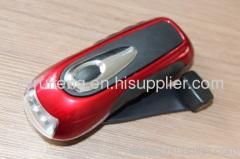 Dynamo Rechargeable Flashlight LED flashlight