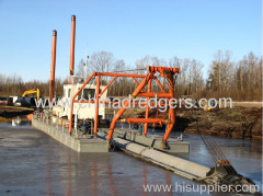 12 inch diesel cutter suction dredger