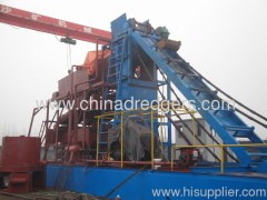 Bucket Wheel Gold Extraction Machine