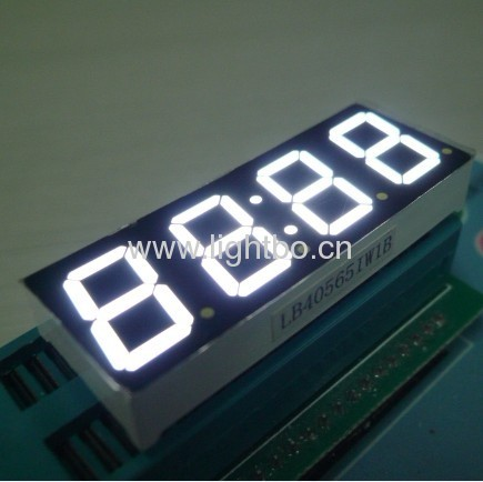 Common anode 4 digit 0.56white numeric led displays