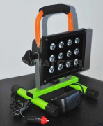 Recommend new and Hi-Tech LED rechargeable work light with Metal S/H-Base