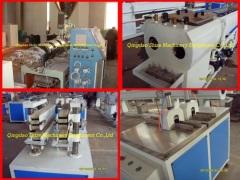 China PVC double pipe making machine