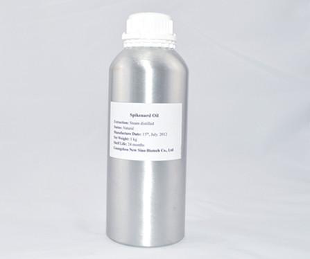1000ml Pack Deep Brown Yellow Tinge Aromatic Jatamansi Essential Oil