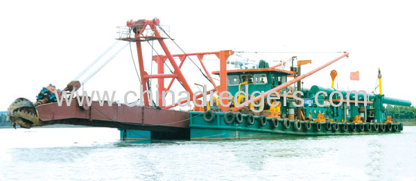 cuter suction sand pump dredgers