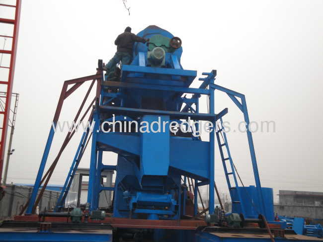 Bucket Type Gold Dredge