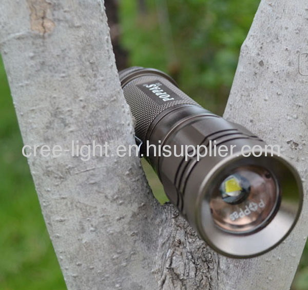 Rechargeable 10W CREE XML T6 High Power Aluminum Torch ACK-1138