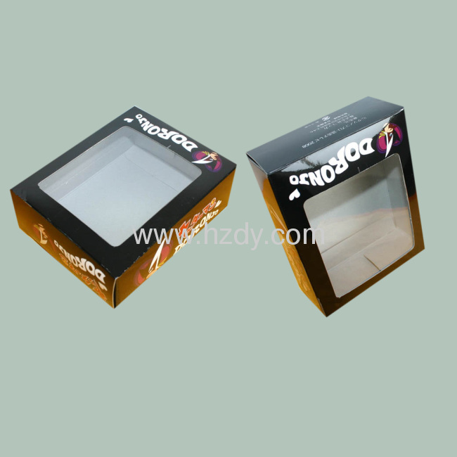 Toy Display Packaging Box with plastic window