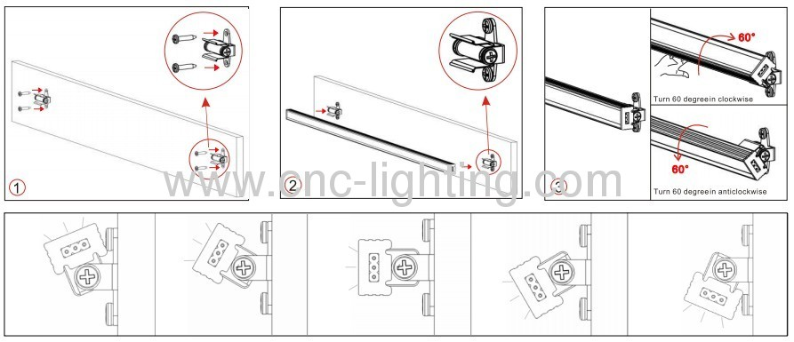 aluminum linear led bar from china manufacturer
