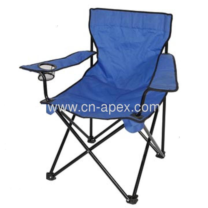 $3.8 Promotional Foldable Beach Chair with handrail