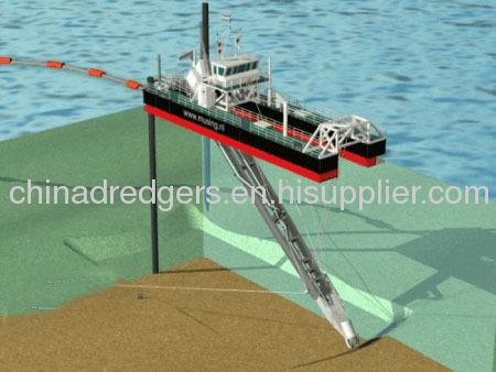 500 m3/h Cutter Suction Dredge