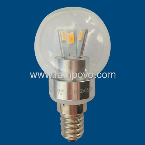 P45 E14/E27 SMD5630 3.5W 2700-7000K Aluminium Housing LED BULB