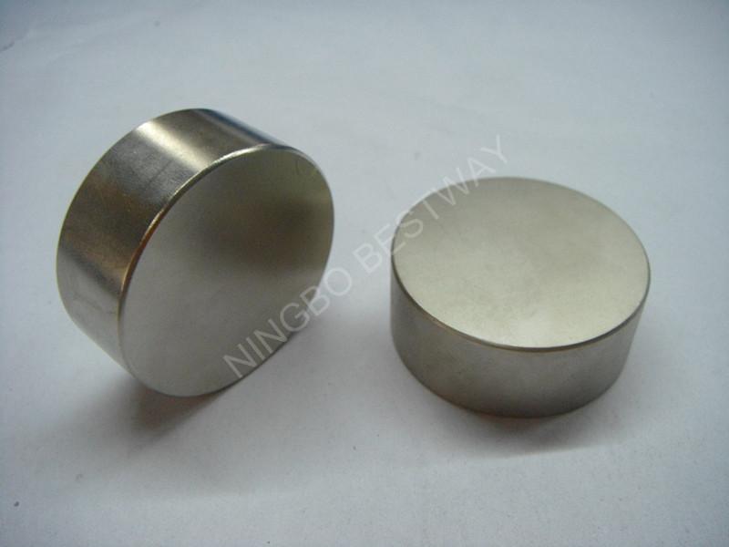 Sintered Cylinder NdFeB Magnet