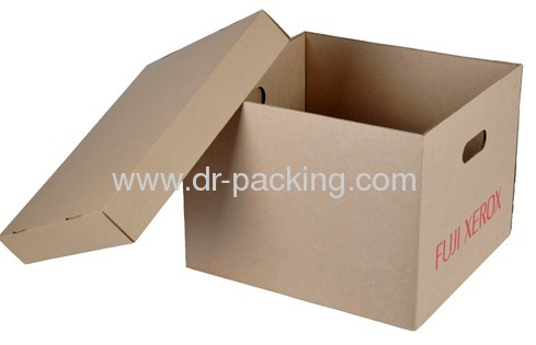 Recycled Display Corrugated Paper Packaging Gift Boxes