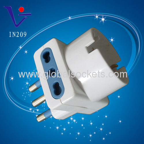 High quality White Italian type ac/ac adapter