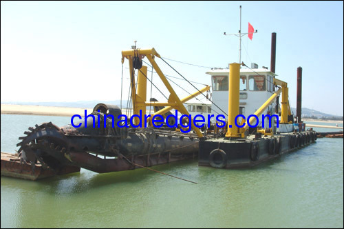 500 m3/h Cutter Suction Dredge