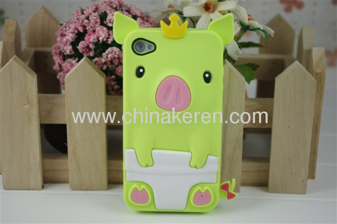 silicone iphone 4S cover