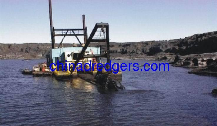 cuter suction sand pump dredgers