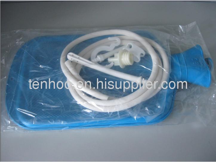Enema Douche hot water Bag kit