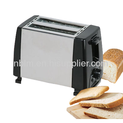 Electronic Timing Control Toaster with Stainless steel 2 slice toaster