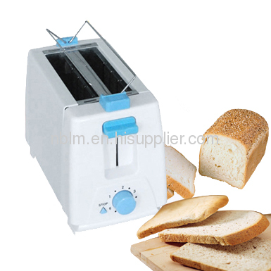 Pop Up Toaster with Metal wall 2 slice toaster