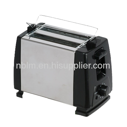 Electric Toaster with Self-centering Guides