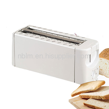 4 Slice Toaster with Snap Open Crumb Tray