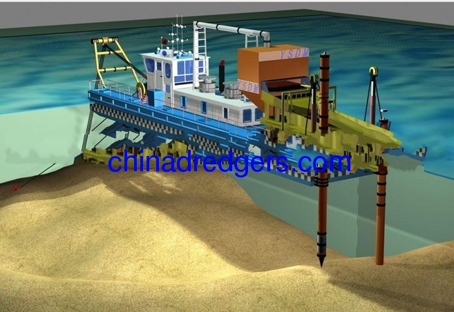 Hot Selling Cutter Suction Dredger