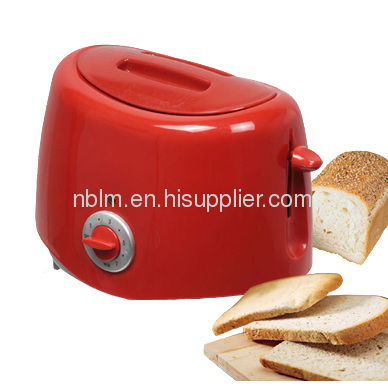 Red Bread Maker with Slide out crumb tray easy to clean