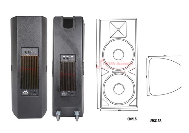High Power Portable Active Speaker