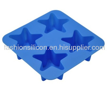 Silicon cake mold in various styles