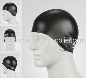 2012 hot sell silicone swimming cap