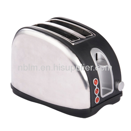 Logo Toaster with Snap open crumb tray